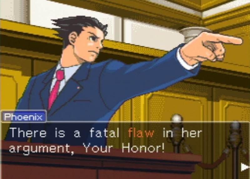Captura de tela de Phoenix Wright: Ace Attorney