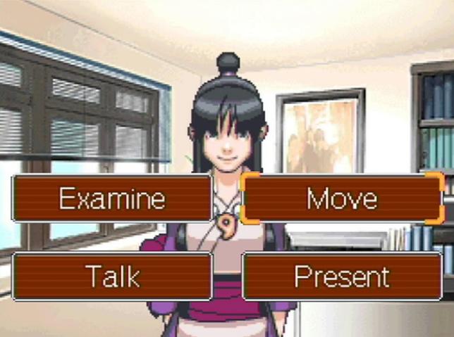 Captura de tela do jogo Phoenix Wright: Ace Attorney