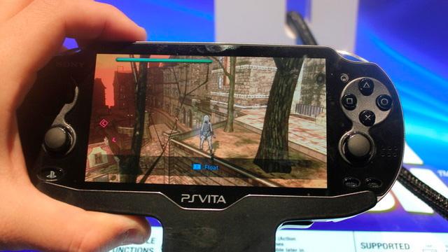 Gravity Rush no PS Vita.