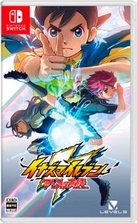 Arte de capa de Inazuma Eleven Ares para Switch