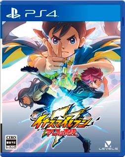 Arte de capa de Inazuma Eleven Ares para PS4