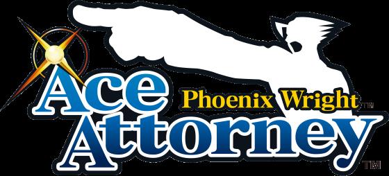 Logotipo do jogo Phoenix Wright: Ace Attorney
