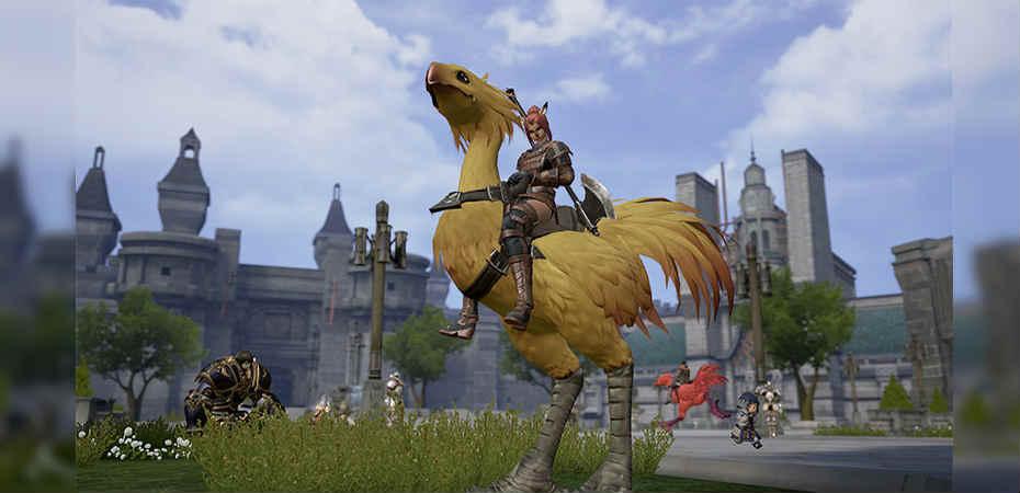 Reboot de <i>Final Fantasy XI</i> para mobile tem imagens divulgadas