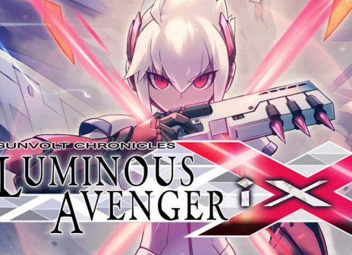 Arte e logo de Gunvolt Chronicles: Luminous Avenger iX