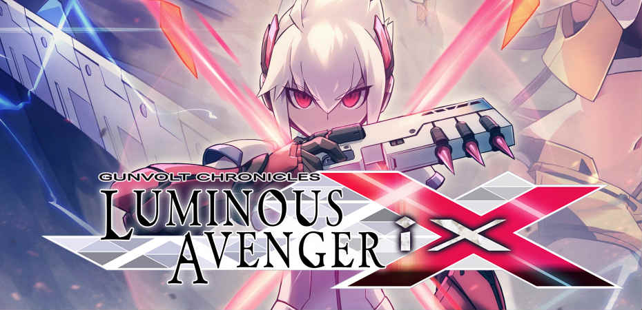 Arte e logo de Gunvolt Chronicles: Luminous Avenger iX