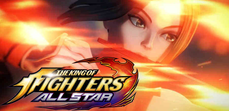 Screenshot do trailer de The King of Fighters ALLSTAR