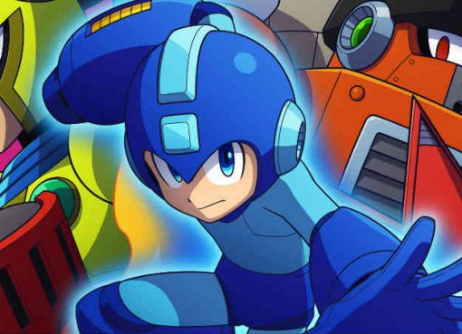 Artwork da capa de Mega Man 11