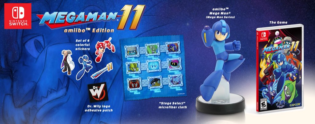 Mega Man 11 Amiibo Edition