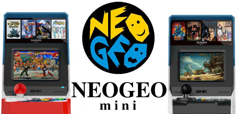 SNK anuncia Neo Geo Mini, console versão miniatura com 40 jogos