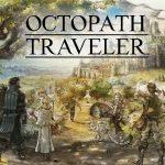Arte e logo de Octopath Traveler