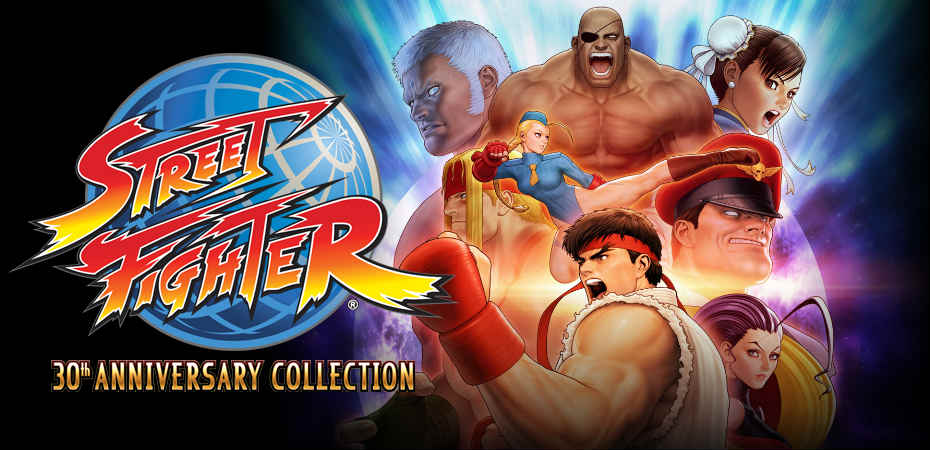 Arte e logo de Street Fighter 30th Anniversary Collection