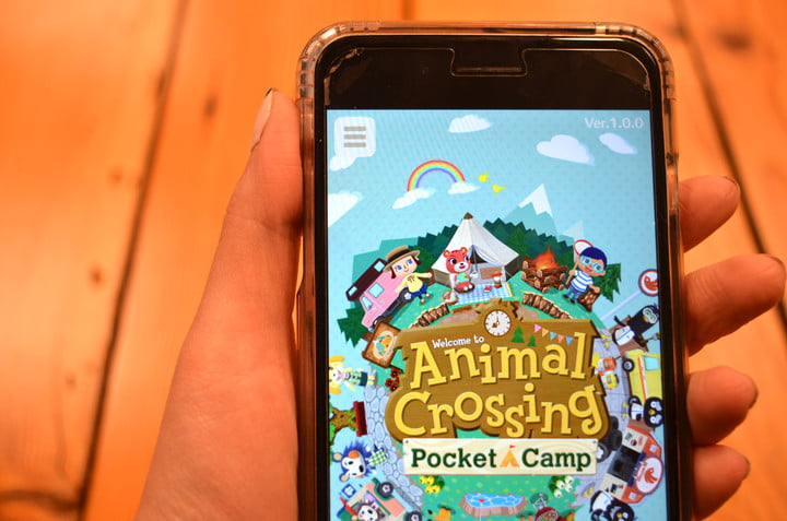 Imagem de Animal Crossing: Pocket Camp no celular