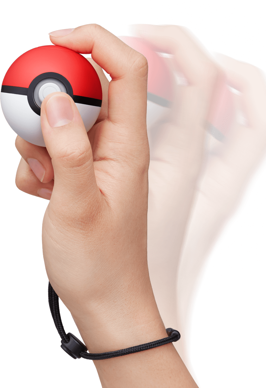 Poké Ball Plus de Pokémon Let's Go Pikachu e Let's Go Eevee