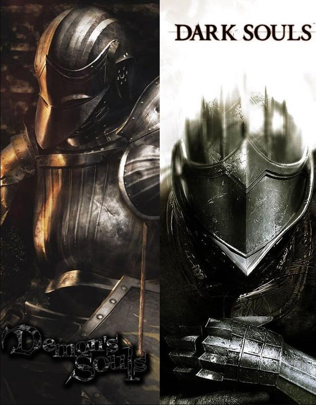 Imagens de Dark Souls, série de sucessores espirituais de <i>Demon's Souls</i>