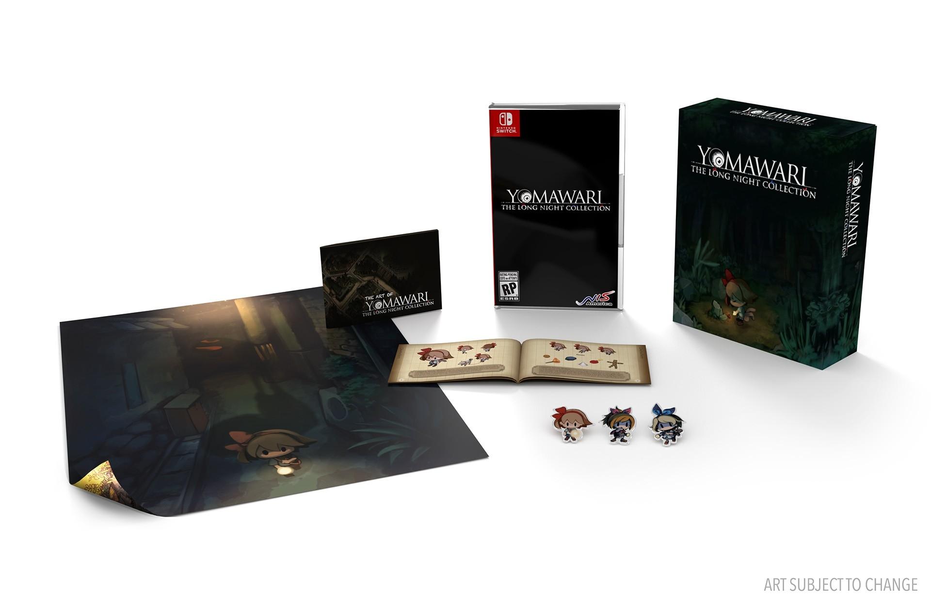 Edição limitada de Yomawari: The Long Night Collection