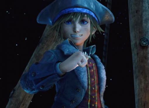 Sora no mundo de Piratas do Caribe em Kingdom Hearts III