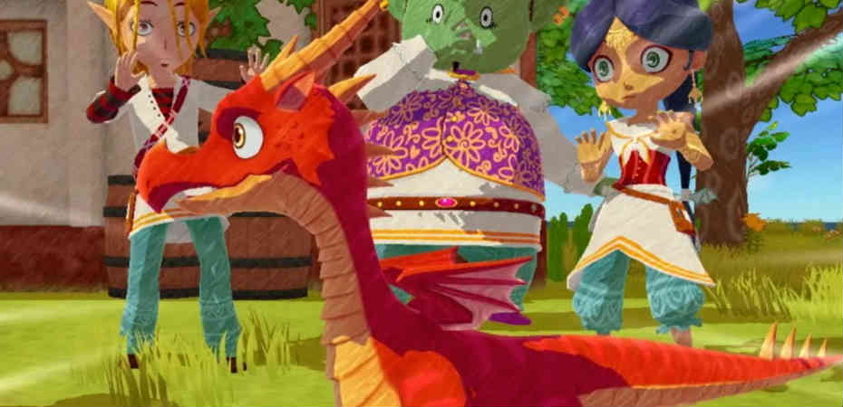 Screenshot de Little Dragons Café