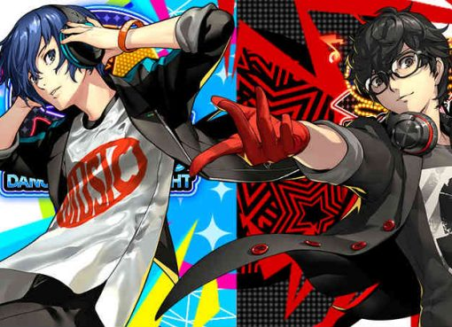 Arte de Persona 3 e Persona 5 Dancing
