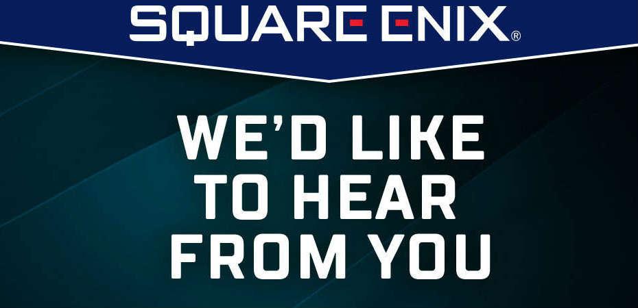 Pesquisa da Square Enix pede ajuda de usuários para moldar o futuro da empresa