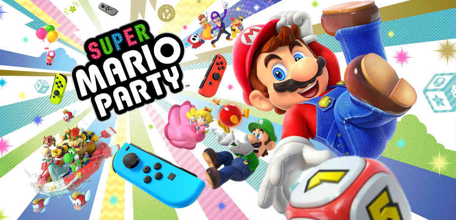 <i>Super Mario Party</i> é anunciado para o Nintendo Switch | <b>#E32018</b>