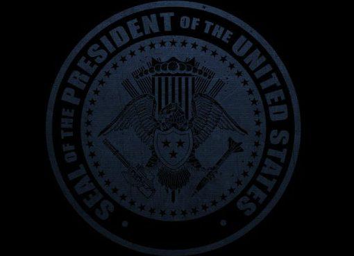 Selo presidencial semelhante ao de Metal Wolf Chaos