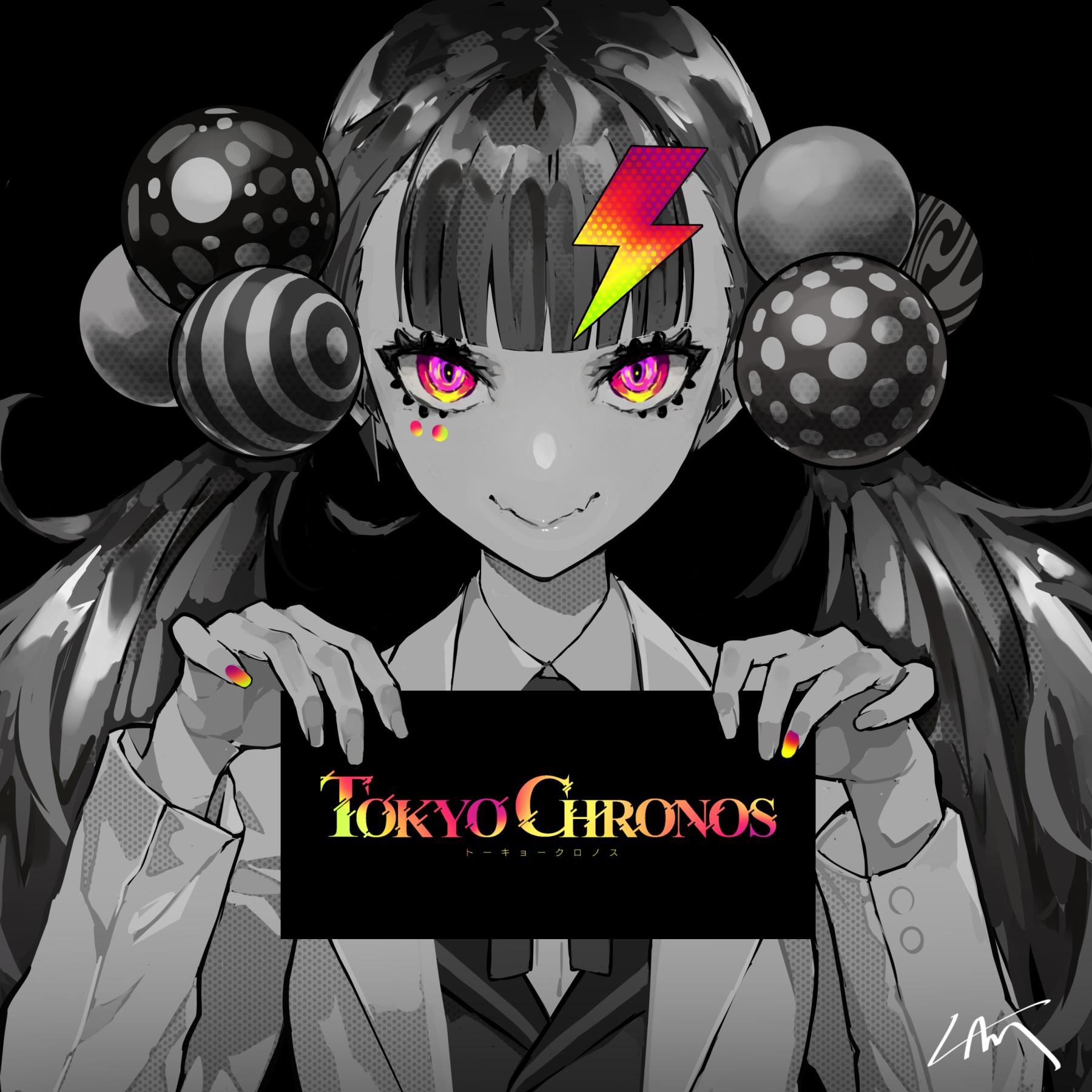 Artwork de uma personagem de Tokyo Chronos