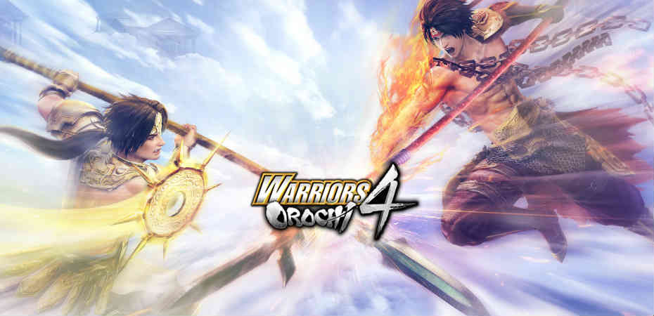 Artwork e logo de Warriors Orochi 4