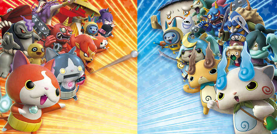 Artwork de Yo-kai Watch Blasters