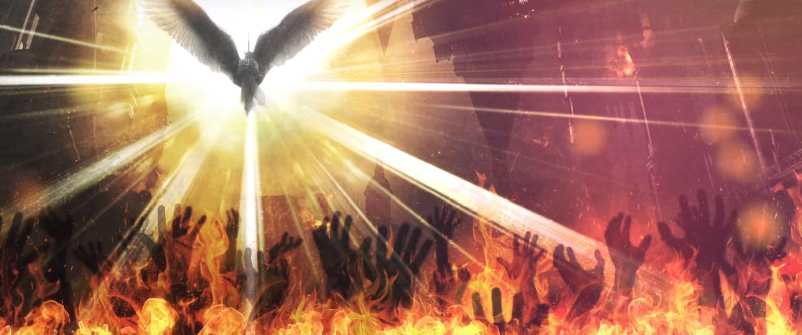 Gaia se revoltando contra a humanidade em Babylon's Fall