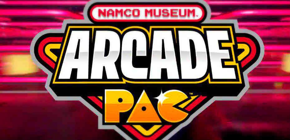 Logo de Namco Museum Arcade Pac