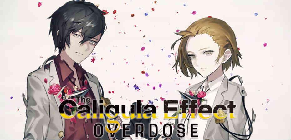 Logo e artwork de The Caligula Effect: Overdose
