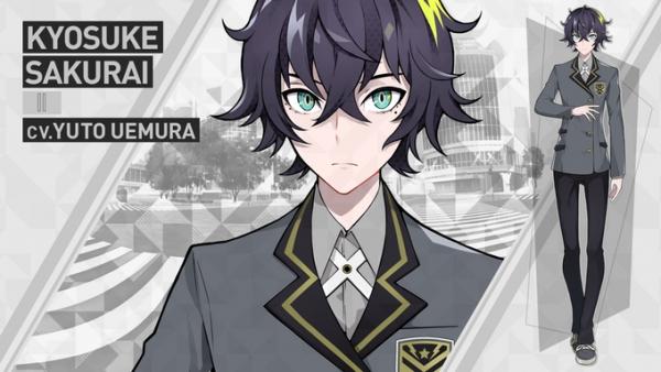 Protagonista da visual novel Tokyo Chronos