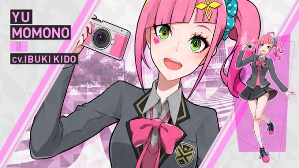 Personagem da visual novel Tokyo Chronos