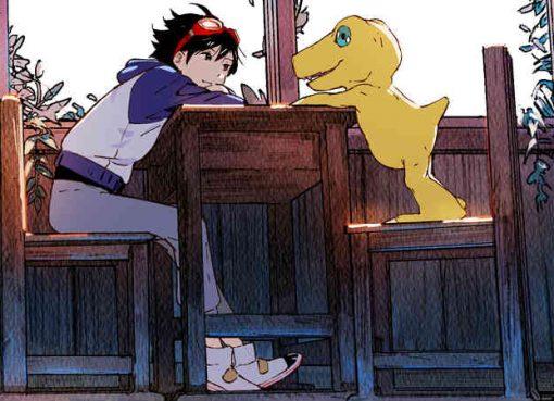 Ilustração de Digimon Survive
