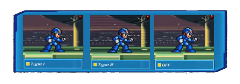 Filtros em Mega Man X Legacy Collection