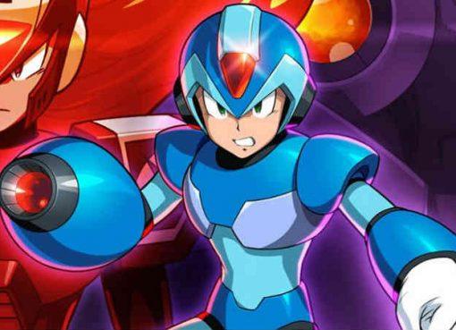 Ilustração de Mega Man X Legacy Collection