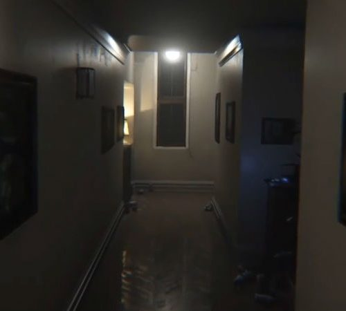 Screenshot do remake de P.T. para PC