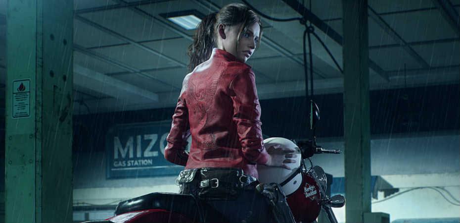 Imagem de Claire no remake de Resident Evil 2