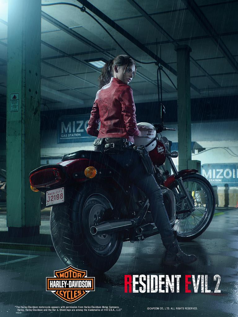 Novo visual de Claire Redfield no remake de Resident Evil 2