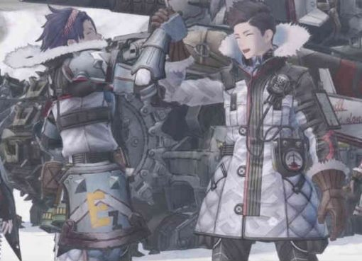 Screenshot da abertura de Valkyria Chronicles 4