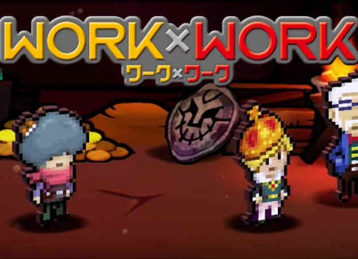 Screenshot do primeiro trailer de Work x Work