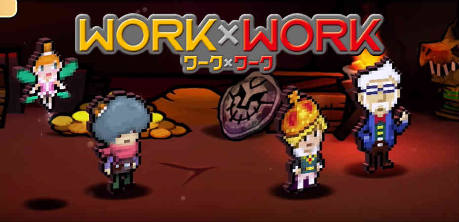 Primeiro trailer de <i>Work x Work</i> mostra gameplay e seu visual retrô