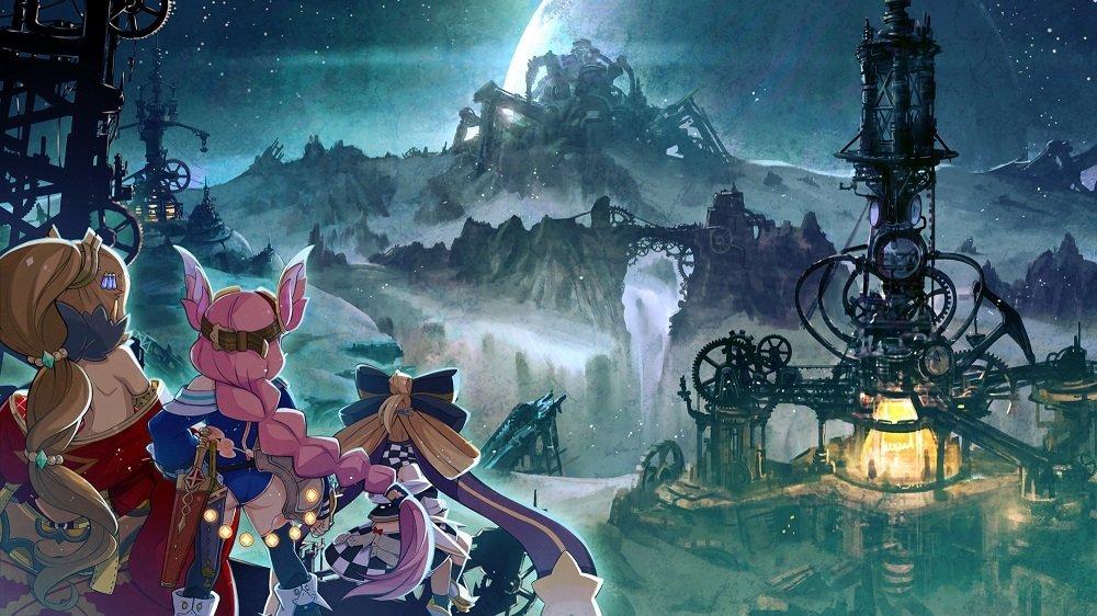 Artwork do RPG Arc of Alchemist