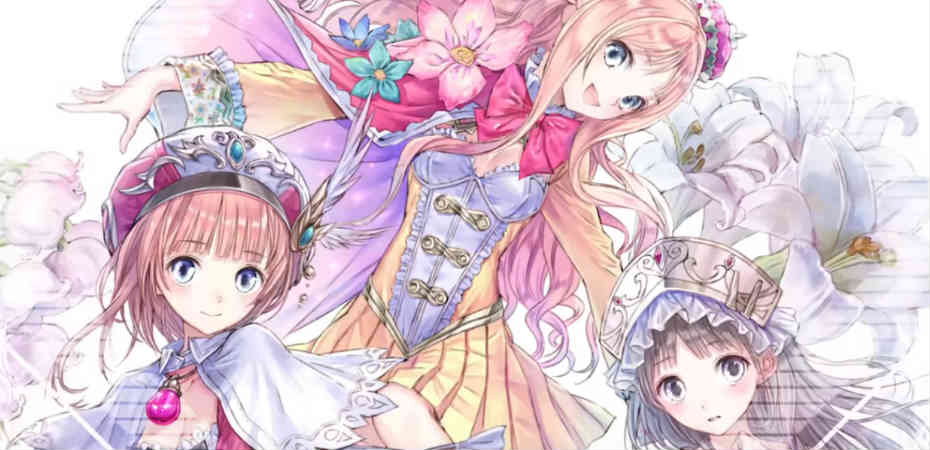 Ilustração para a coletânea Atelier: Arland no Renkinjutsushi 1-2-3 DX