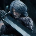 Dante em Devil May Cry 5