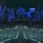 Imagem da cidade de Insomnia de Final Fantasy XV em Dissidia Final Fantasy NT