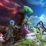 Ilustração dos personagens de Dragon Quest XI: Echoes of an Elusive Age