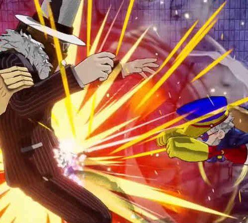 Screenshot do jogo de luta My Hero One's Justice