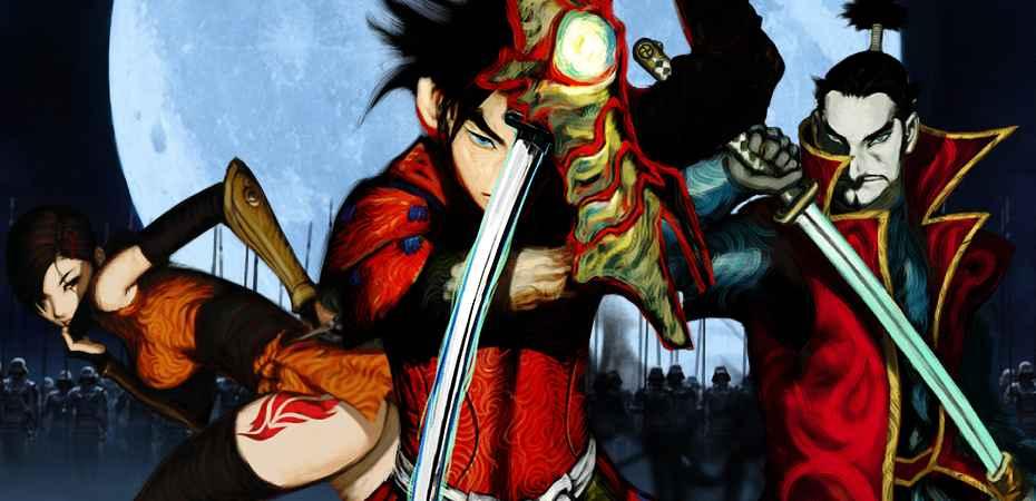 Arte de personagens de Onimusha Warlords