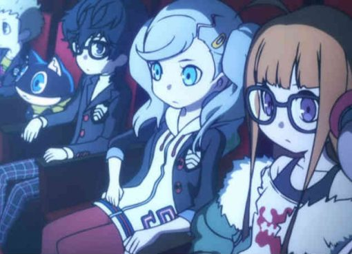 Screenshot do TV Spot de Persona Q2: New Cinema Labyrinth